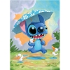 Disney Postcard - Rainy Day Stitch by Kristin Tercek