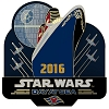 Disney Star Wars Day at Sea Pin - Logo 2016 Limited Release