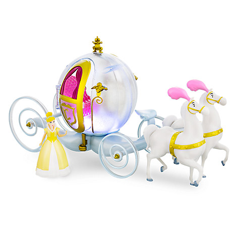 disney play set cinderella horse and carriage