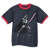 Disney Child Shirt - Star Wars - Darth Vader Ringer Tee