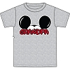 Disney Adult Shirt - Mickey Ears Grey - Grandpa
