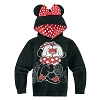 Disney Girls Jacket - Minnie Mouse Costume Hoodie