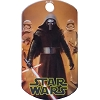 Disney Engraved ID Tag - Star Wars - Kylo Ren Troopers