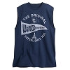 Disney Adult Shirt - Walt Disney World Pennant Sleeveless - Navy