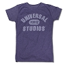 Universal Ladies T-Shirt - Universal Studios 1912 - Purple