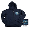 Universal Hooded Sweatshirt - Universal Studios Techy Globe - Youth