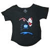 Universal Adult Ladies Shirt - Hello Kitty x E.T. The Extraterrestrial