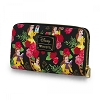 Disney Loungefly Wallet - Beauty and the Beast - Belle Floral