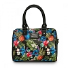 Disney Loungefly Crossbody Duffle - Stitch Hawaiian Print Pebble