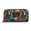 Disney Loungefly Wallet - Pebbled Stitch Hawaiian Print