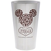 Disney Tumbler Glass - Epcot World Showcase - Italy Pasta Mickey Icon