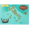 Disney Cutting Board - Epcot Italy Map with Mickey and Minnie Gondola