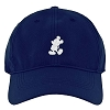 Disney Nike Baseball Hat - Mickey Standing - Navy