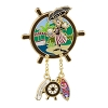 Disney Jungle Cruise Pin - 45th Anniversary - Cheif Nami Goofy