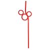 Disney Utensil - Mickey Mouse Straw - Ver. 2 - Red