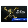 Disney Collectible Gift Card - Dead Men Tell No Tales - Pirates Logo