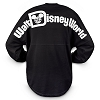 Disney Adult Shirt - Walt Disney World Spirit Jersey - Black