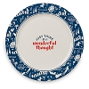 Disney Dinner Plate - Peter Pan Neverland - Think a Wonderful Thought