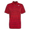 Disney ADULT Shirt - Mickey Mouse Polo by NikeGolf - Red Stripe