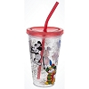 Disney Tumbler with Straw - Mickey Through the Years