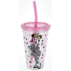 Disney Tumbler with Straw - Fashionista Minnie Mouse