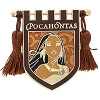 Disney Pin - Princess Pocahontas Crest Banner with Tassels