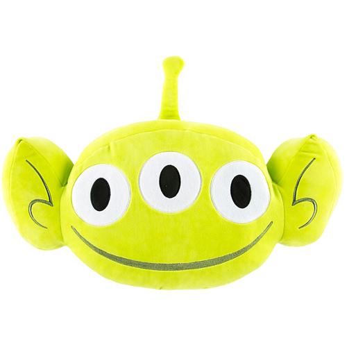 Your WDW Store - Disney Plush Emoji Pillow - Toy Story Green Alien - Large