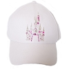 Disney Baseball Cap - Magic Kingdom Pink Rhinestone Castle