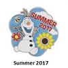 Disney Summer Pin - Summer 2017 Olaf