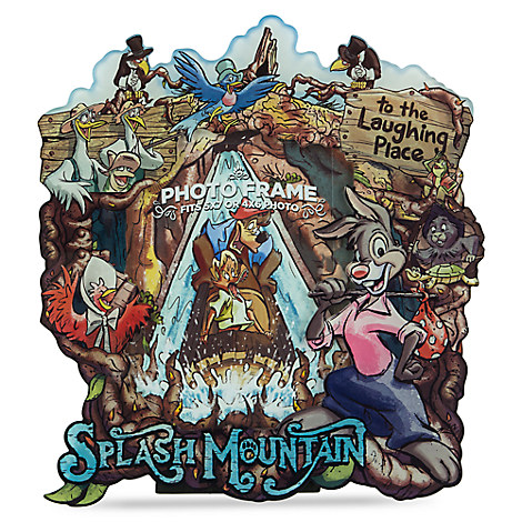 Disney Picture Frame Splash Mountain Characters 5 Quot X 7