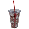 Universal Tumbler with Straw - Hello Kitty Movie Popcorn