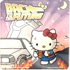 Universal Coaster - Hello Kitty x Back to the Future