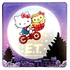 Universal Coaster - Hello Kitty x E.T. - The Extra Terrestrial