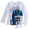 Disney Women's Shirt - Star Wars - R2-D2 Long Sleeve Tee