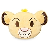 Disney Plush Emoji Pillow - Simba - Large
