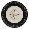 Disney Dessert Plate - Gourmet Mickey Black and Cream 7''