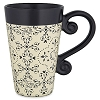 Disney Coffee Cup Mug - Gourmet Mickey Black and Cream