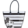Disney Tote Bag - Clear Striped Mickey Mouse