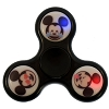 Disney Light Up Toy - Fidget Spinner - Emoji Mickey Black