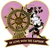 Disney Pin - Disney Pin - Disney Cruise Mickey & Minnie - In Love with the Captain