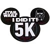 Disney Car Bumper Magnet - Star Wars Half Marathon 2017 - I Did It 5K