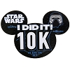 Disney Car Bumper Magnet - Star Wars Half Marathon 2017 - I Did It 10K