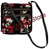 Disney Vera Bradley Bag - Painted Rose Iconic Triple Zip Hipster