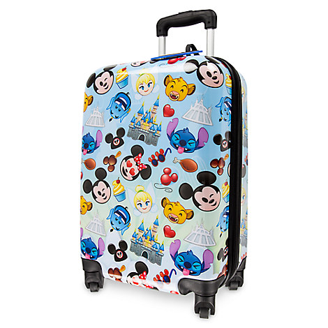 Disney Rolling Luggage Disney Character And Parks Emojis