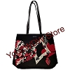 Disney Vera Bradley Bag - Painted Rose Alice Iconic Vera Tote - Black