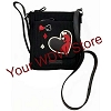 Disney Vera Bradley Bag - Painted Rose Alice Iconic Mini Hipster Black
