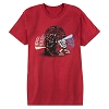 Disney Adult Shirt - Star Wars - Darth Vader and Luke Skywalker Duel