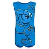 Disney Tank Tee for Women - Excited Mickey Mouse - Blue