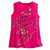 Disney Tank Tee for Women - Happy Minnie Mouse - Pink
