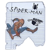 Disney Pin - Marvel Spider-Man Sketch Drawings